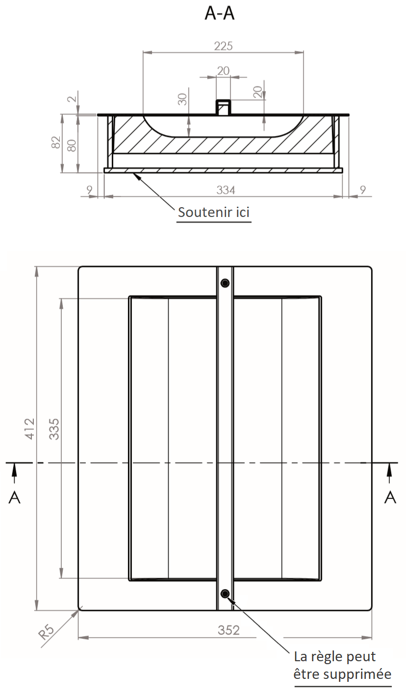 Dimensions WURSTER modèle 12-FB6