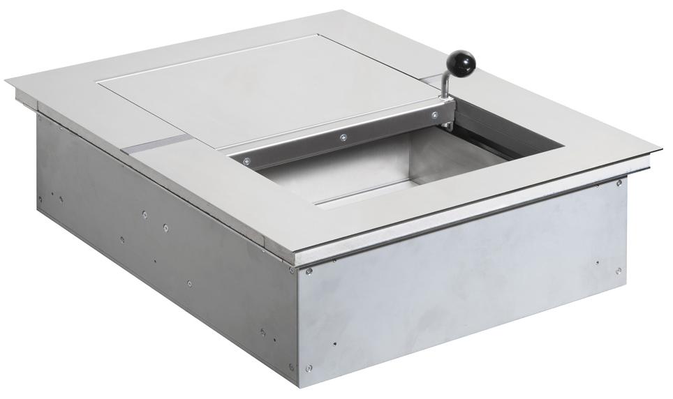 Passe-documents coupe-feu modèle 20 EI90 EI60